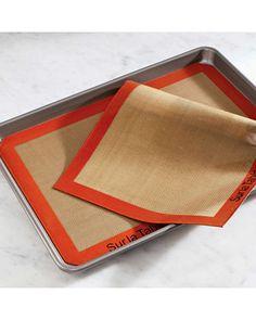 Nonstick mats are a must-have for any kitchen. Buy them here: http://www.bhg.com/shop/sur-la-table-sur-la-table-silpat-baking-mat-11-x-17-p4fec65bb82a75e558474a969.html?socsrc=bhgpin110812shopnonstickmats
