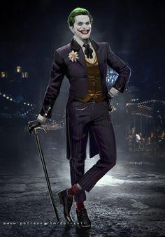 Bat Joker, Gotham Joker, Joker Dc Comics, Joker Art, Red Hood Movie, Matt Reeves, Willem Dafoe, Comic Villains, Popular Artists