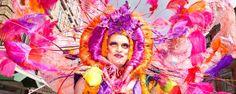 Aarhus' gader er lørdag eftermiddag fyldt med farver. Foto: Cecilie Smetana Gay Pride Parade in Århus
