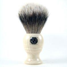 "The ""Monarch"" High Mountain White Silvertip Badger Shaving Brush Badger Shaving Brush, Wet Shaving, Mountain, Beauty, Beauty Illustration, Mountaineering"