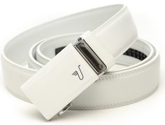 White golfing belt - the perfect gift for a husband or boyfriend, $34.99