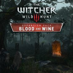 The Witcher Blood and Wine - Mère-Lachaiselongue Cemetery, Kuba Wichnowski The Witcher Wild Hunt, The Witcher 3, 3d Sketch, Sketches, Witcher Art, The Expanse, Cemetery, Blood, Environment