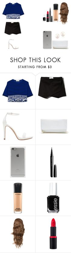 """Untitled #418"" by kalieh092 on Polyvore featuring Emilio Pucci, Abercrombie & Fitch, Zara, GUESS, Incase, Marc Jacobs, MAC Cosmetics and Essie"
