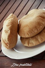 Zóra praktikái blog: Teljes kiőrlésű pita gyroshoz Hamburger, Pancakes, Bread, Breakfast, Lifestyle, Food, Morning Coffee, Brot, Essen