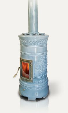 The Classic Tiled Wood Stoves From La Castellamonte Are