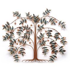 @Overstock - This wall sculpture is made from the finest materials available by skilled artisans. It is designed to fit the most unique and exquisite design application and arrives ready to hang.http://www.overstock.com/Home-Garden/Iron-Werks-Tree-of-Life-Wall-Sculpture/7585764/product.html?CID=214117 $188.99