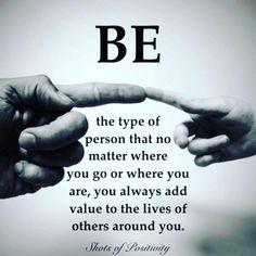 Be good enough
