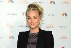 "Actress Kaley Cuoco, right, and Ryan Sweeting at the 2013 Entertainment Weekly Pre-Emmy Party in Los Angeles. The Big Bang Theory"" star, Cuo..."