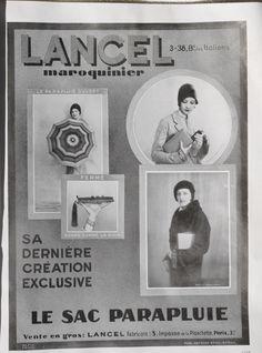 fr Old magazine - Old advertising - Lancel Magazine Mode, Old Magazines, 1920s, Advertising, Eros, The Originals, Frame, Ainsi, Photos