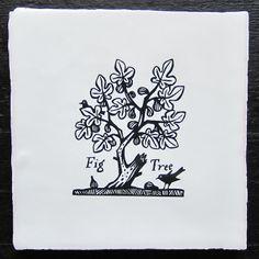 Paul Bommer, Fig Tree Court, delft tile