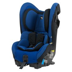 Babylove Ezy Switch (0-4 extended rear facing as the height markers are higher than other car seats). Comes in Blue (Pictured), Grey, Red and Pink.