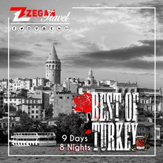 Best Of Turkey (9 Days - 8 Nights)  *Istanbul;Byzantium & Ottoman Relics Tour, Bosphorus & Two Continents Tour, Ephesus, Pamukkale, Cappadocia.  *Airport Transfers  *Guided Daily Tours   Contact us now info@zegantravel.com  http://www.zegantravel.com/Zt-410-Best-Of-Turkey  #turkey #turkeytour #turkeytravel #istanbul #istanbultour #istanbultravel #byzantium #ottomanrelics #bosphorus #twocontinents #ephesus #pamukkale #cappadocia