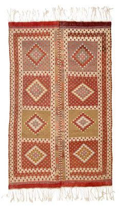 Vintage Balikesir Jijim Rug around 50 years old.
