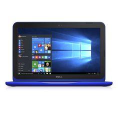 """[Cyber Monday 2016] Dell Inspiron i3162-0003BLU 11.6"""" HD Laptop (Intel Celeron N3060, 4GB RAM32 eMMC HDD) Bali Blue"""