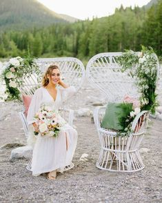 NEW // new inventory! These stunning white wicker/rattan peacock chairs are the newest addition to our rental family! . Photo @christydswanbergphoto Model @be.the.dream Florals @creativeedgeflowersyyc Rentals @orangetrunk Styling @heather_johnston_creative . . #orangetrunkvintagerentals #vintageyyc #vintage #vintageindustrial #loveislove #vintageweddingrentals #vintagestyle #yycvintage #yycevents #yycweddings #calgaryrentals #calgaryvintage #canadianwedding #calgaryweddingrentals #yycboho… Rattan Peacock Chair, Wedding Sand, New Inventory, White Wicker, Wedding Rentals, Vintage Industrial, Vintage Furniture, Event Design, Creative Design