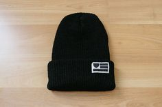 The Beard Collective - Flag - Black Cuff Beanie Caps Hats, Flag, Beanie, How To Wear, Collection, Fashion, Moda, Fashion Styles, Science
