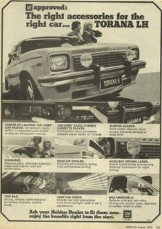 Australian Vintage, Australian Cars, Holden Torana, Holden Australia, Aussie Muscle Cars, Car Brochure, Old Trucks, Old Cars, Cars Motorcycles