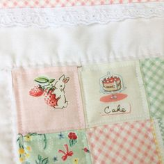 Bunnies and Cream Fabric  Penny Rose Fabrics  Riley Blake Designs  Aurifil Thread  Hand Quilting  Mini Quilt