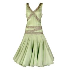 Spring, 2005 Alexander McQueen Silk Organza Flapper Dress | From a collection of rare vintage evening dresses at http://www.1stdibs.com/fashion/clothing/evening-dresses/
