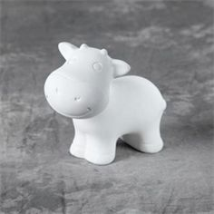 Pottery cow