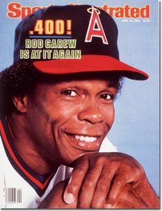 Rod Carew, Baseball, California Angels
