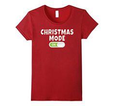 Womens Christmas Mode - Christmas Holiday Mode T Shirt Sm... https://www.amazon.com/dp/B076P4XK6R/ref=cm_sw_r_pi_dp_x_Opk7zbX060V6F