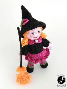 Amigurumi Uncinetto Gratis : 1000+ images about Witch crochet on Pinterest Witch ...