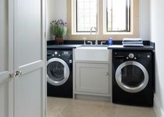 Do you know the clothes laundry room design ideas that are suitable for you? If you are still confused, you can try out some of laundry room design ideas Utility Room Sinks, Modern Laundry Rooms, Laundry Room Cabinets, Laundry Room Storage, Laundry Room Design, Utility Sink, Laundry Area, Laundry Room Folding Table, Utility Room Designs