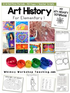 12 engaging art history lessons with 150 photos and read aloud scripts for teachers