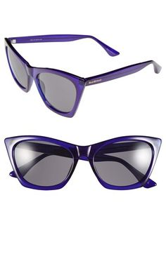 edb4633168 Free shipping and returns on Isaac Mizrahi New York 55mm Cat Eye Sunglasses  at Nordstrom.