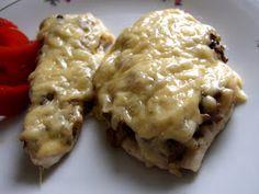 zapiekane kotlety z kurczaka Cheese, Chicken, Recipes, Food Ideas, Polish, Per Diem, Varnishes, Recipies, Manicure