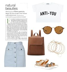 A fashion look from May 2017 featuring crop tops, high waisted denim skirt and floral shoes. Browse and shop related looks. High Waisted Denim Skirt, Floral Shoes, Minkpink, Boohoo, Polyvore Fashion, Ray Bans, Fashion Looks, Crop Tops, Portrait