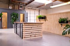 Inside Column Five's New Warehouse Offices