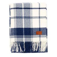 City Check rug, indigo – Gant Home #interior #design