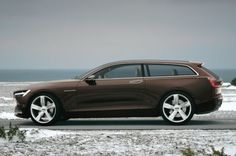 Volvo Concept Estate is a brown shooting brake, need we say more? http://aol.it/1k9Wy1D @Volvo Cars US #volvo