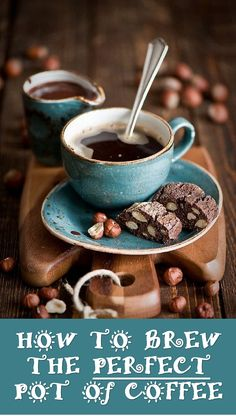 How To Brew The PERFECT Pot Of Coffee! Step by step instructions to brew the perfect pot of coffee every time ;-0