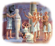 Funeral of a pharaoh - Q-files Encyclopedia