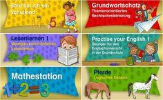 Die Lük App - für Kinder im Vorschul- und Grundschulalter