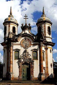 Entre as mais bonitas do Brasil - Igreja de São Francisco - São João Del Rei  MG