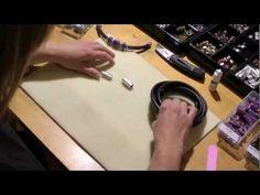 Regaliz® Leather Bracelet - Black Leather Bracelet for a Men - YouTube