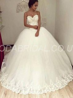 modabridal.co.uk SUPPLIES Tailor made Ball Gown Sweetheart Floor-Length Court Summer All Sizes Fall Basque Wedding Dress WEDDING DRESSES