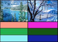 Bright Spring vs Bright Winter