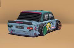 Racing Car Design, Motorcycle Design, Custom Hot Wheels, Custom Cars, Cool Car Drawings, Jdm Wallpaper, Drifting Cars, Car Illustration, Web Design
