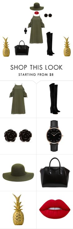 """""""welcome to amazon"""" by mihan22 on Polyvore featuring DailyLook, Aquazzura, Erica Lyons, Topshop, Givenchy, Bloomingville, Lime Crime, men's fashion and menswear"""