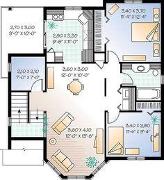 planos de casas gratis | Plano de chalet 2 plantas | Planos de casas gratis modernas                                                                                                                                                                                 Más