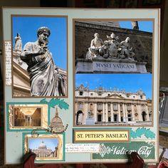 Vatican City Rome- Page 1 - Scrapbook.com