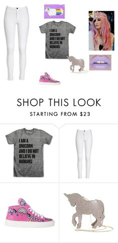 """UNICORNS R LYFE"" by teddyismynumber ❤ liked on Polyvore featuring Sleepyville Critters"