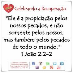Aqui vivemos 1 dia de cada vez! Compartilhe, Curta, Comente a palavra de Deus! #crpibi #celebrandoarecuperacao