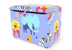 Roar Blue Childrens Toy Box! Click to buy!