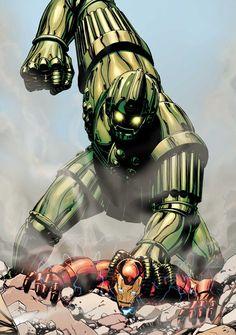 Titanium Man vs Iron Man